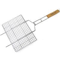 Решетка-гриль «Forester», 26 х 35 смBQ-N01Решетка-гриль Forester предназначена для приготовления пищи на углях. Изготовлена из высококачественной стали с пищевым никелированным покрытием. Идеально подходит для мангалов и барбекю.