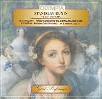 Mozart / Chopin. Piano Concertos № 23, 1. Stanislav Bunin / Yuzo Toyama