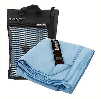 Полотенце Micronet Medium, цвет: небесно-голубой