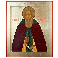 Преподобный Сергий Радонежский Чудотворец. 25 х 30 см