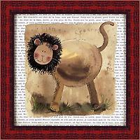 Лев на сафари (Alex Clark), 18 х 18 см18x18 D2063-10418Художественная репродукция картины Alex Clark Lion on Safari. Размер постера: 18 см х 18 см Артикул: 18x18 D2063-10418.