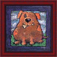 Пухлый пёс (Jennifer Wiley), 20 х 20 см20x20 JW12285-10418Художественная репродукция картины Jennifer Wiley Pudgy Pooch. Размер постера: 20 см х 20 см Артикул: 20x20 JW12285-10418.