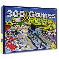 300 Игр. Набор настольных игр780332Игра 300 Игр предложит вам 300 вариантов различных игр, которые помогут вам провести время весело и незабываемо. Вашему вниманию представлены игры на шахматной доске, на игровых полях, игры с кубиками, множество карточных игр и игры с ручкой и бумагой.