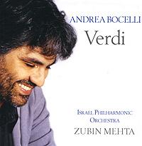 Andrea Bocelli. Verdi 2007 Audio CD