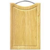 Доска разделочная из светлого бамбука, 31 х 20 х 2 см