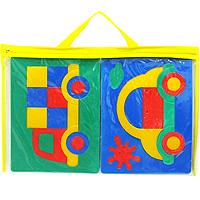 Машинки. Мягкая мозаика45901Мягкая мозаика Машинки состоит из разноцветных элементов. Набор в собранном виде представляет собой две мозаики с изображением легковой и грузовой машины. Она выполнена из современного, легкого, эластичного, прочного материала, который обеспечивает большую долговечность и является абсолютно безопасным для детей. Благодаря особой структуре материала и свойству прилипать к мокрой поверхности, мозаика является идеальной игрушкой для ванны и сделает процесс купания приятной забавой для ребенка. Преимущество предлагаемой мозаики перед другими игрушками заключается в том, что она способствует развитию у ребенка мелкой моторики, образного и логического мышления, наблюдательности.
