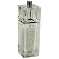 Мельница для соли CubeH335020Мельница для соли Cube изготовлена из пластика. Она легка в использовании, стоит только покрутить верхнюю часть мельницы, и вы с легкостью сможете добавить соль по своему вкусу в любое блюдо. Мельница модного дизайна будет отлично смотреться на вашей кухне. Мельница уже содержит внутри соль! Характеристики: Материал: пластик. Размер мельницы: 14,5 см х 4,5 см х 4,5 см. Артикул: H335020. Страна: Великобритания.
