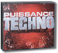 Puissance Techno (4 CD) 2008 4 Audio CD
