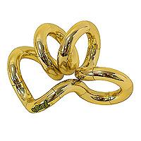 Змейка Tangle, цвет: золотойТГ126Змейка Tangle золотого цвета станет полезным подарком вашему ребенку. Змейка скручивается в любую форму. Игра со змейкой развивает у вашего ребенка воображение, внимательность, способствует развитию мелкой моторики рук.