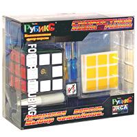 Скоростной кубик Рубика, 3х3КР3209Перед вами профессиональная модель классической головоломки, предназначенная для спидкьюбинга, изначально появившаяся в Японии. В переводе с английского speedcubing - это процесс сборки кубика Рубика на скорость, популярное молодежное движение. Для большей скорости при сборке под крышечкой центральных кубиков на каждой стороне находятся регулировочные винты, позволяющие максимально точно подобрать силу затяжки всех сторон кубика. Силиконовый гель-смазка предназначен для нанесения на внутренние стороны кубика: это обеспечит максимально гладкое скольжение и минимум усилий при сборке кубика. Ежегодно более чем в 50 странах мира проходят Чемпионаты по скоростной сборке кубика Рубика, победители которых приглашаются на Чемпионат Мира представлять свою страну.