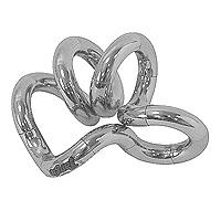 Змейка Tangle, цвет: металликТГ126Классическая змейка Tangle станет полезным подарком вашему ребенку. Змейка скручивается в любую форму. Игра со змейкой развивает у вашего ребенка воображение, внимательность, способствует развитию мелкой моторики рук.