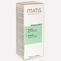 Очищающий гель для лица Matis, 125 мл36521Полупрозрачный гель образует обильную пену при контакте с водой, используется для снятия макияжа и очищения кожи от загрязнений. Мягко удаляет омертвевшие клетки на поверхности кожи, не нарушая баланс кожи. Обеспечивает стойкость макияжа. Характеристики: Объем: 125 мл. Производитель: Франция Товар сертифицирован.