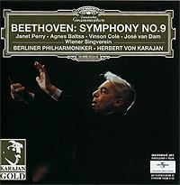 Herbert Von Karajan. Beethoven. Symphony No. 9 2008 Audio CD