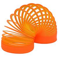 Пружинка Slinky neon. Цвет: оранжево-желтыйСЛ122 оранжево-желтыйПружинка Slinky появилась после Второй Мировой Войны. Эта пружинка - одна из самых любимых и известных игр в мире. Из пружинок делали гирлянды, играли с ними, запутывали, распутывали, пытались заставить ходить по ступенькам лестницы. Пружинка Slinky была в каждом доме. Порадуйте и вы себя этой увлекательной игрой с неоновой пружинкой Slinky neon.