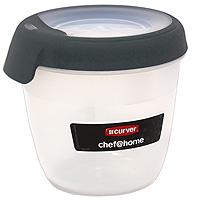 Контейнер для СВЧ, холодильника Curver 0,4 л D07580/00019D 07580/00019Контейнер круглой формы предназначен специально для хранения пищевых продуктов. Крышка легко открывается и плотно закрывается. Он устойчив к воздействию масел и жиров, легко моется (можно мыть в посудомоечной машине). Прозрачные стенки позволяют видеть содержимое. Подходят для использования в микроволновых печах. Контейнеры имеют возможность хранения продуктов глубокой заморозки, в целом их температурный режим применения находится в диапазоне от - 40 °С до + 100 °С. Контейнер обладает высокой прочностью. Пищевой контейнер необыкновенно удобен: в нем можно брать еду на работу, за город, ребенку в школу. Характеристики: Материал: пластик. Объем контейнера: 0,4 л. Изготовитель: Венгрия. Артикул: D 07580/00019.