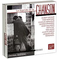 La Legende De La Chanson (10 CD)