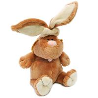 Мягкая игрушка Кролик, 23 см7-42044Мягкий и нежный на ощупь кролик с длинными ушками порадует, как ребенка, так и взрослого. Его очаровательный животик, розовый носик и язычок непременно вызовут улыбку каждого. Игрушка изготовлена из нетоксичных, не вызывающих аллергию материалов, эта игрушка абсолютно безопасна и удивительно приятна на ощупь, а специальные гранулы, используемые при набивке, способствуют развитию мелкой моторики рук малыша. Благодаря синтепоновой набивке игрушка как будто воздушная.