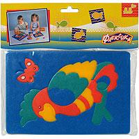 Попугай. Мягкая мозаика45541Мозаика Попугай состоит из разноцветных элементов, которые в собранном виде составляют изображения симпатичного попугая на жердочке. Мозаика выполнена из современного, легкого, эластичного, прочного материала, который обеспечивает большую долговечность и является абсолютно безопасным для детей. Благодаря особой структуре материала и свойству прилипать к мокрой поверхности, мозаика является идеальной игрушкой для ванны и сделает процесс купания приятной забавой для ребенка. Преимущество предлагаемой мозаики перед другими игрушками заключается в том, что она способствует развитию у ребенка мелкой моторики, образного и логического мышления, наблюдательности.