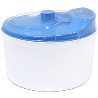 Центрифуга для сушки салата, цвет: голубойC818Центрифуга применяется для удаления поверхностной влаги с салатов и овощей после мойки. Компактная конструкция центрифуги с крышкой выполнена из пластика. Центрифуга очень легка в применении, стоит только покрутить рукоятку, и внутренняя чаша закрутится, тем самым высушит Ваш салат от влаги.
