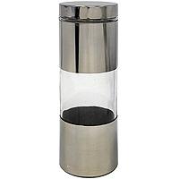 Банка для продуктов Amadeus 14ZB-401214ZB-4012Банка поможет Вам сохранить продукты со своим уникальным ароматом. Банка изготовлена из стекла и нержавеющей стали. Крышка герметично закрывает банку. Характеристики: Материал: нержавеющая сталь, стекло. Размер банки: 10 см х 10 см х 31 см. Производитель: Германия. Артикул: 14ZB-4012.