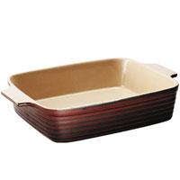 Форма для запекания Duns керамическая, 36 х 26 смUCW-4315/44Форма для запекания Duns, выполненная из керамики, станет незаменимым помощником у вас на кухне. Основные преимущества керамической формы для запекания Duns: Подходит для использования в микроволновой, конвекционной печи и духовке; Подходит для хранения продуктов в холодильнике и морозильной камере; Устойчива к температурам от -30°С до +220°С; Можно мыть в посудомоечной машине; Идеально подходит для сервировки стола. Характеристики: Материал: керамика. Размер (без ручек): 36 см х 26 см. Размер (с ручками): 43 см х 26 см. Высота стенок: 7,5 см. Производитель: Австрия. Артикул: UCW-4315/44. Керамическая посуда пользуется огромной популярностью во всем мире, и не случайно. Всем известны достоинства этой необыкновенно красивой и практичной посуды. Ведь только керамическая посуда способна обеспечить равномерный нагрев и долгое сохранение температуры. Именно эти качества позволяют придать особый...