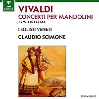 Claudio Scimone. Vivaldi. Concertos Pour Mandoline