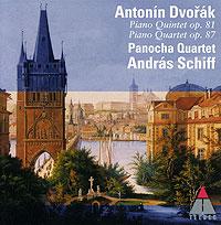 Andras Schiff. Dvorak. Piano Quintet, Op. 81 / Piano Quartet, Op. 87