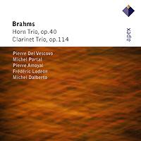 Johannes Brahms. Horn Trio / Clarinet Trio