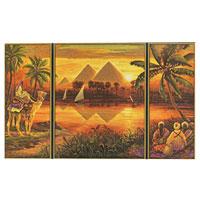 Schipper Раскраска по номерам Пирамиды, 50 см х 80 см9260442С раскраской по номерам Пирамиды каждый сможет стать начинающим художником и создать свою собственную картину! Надо только аккуратно нанести необходимую краску на отмеченный для нее участок на основе. Таким образом, шаг за шагом у вас получится великолепная картина, изображающая пирамиды. Краски основаны на воде, легко отмываются и безопасны для детей. С этим набором вы ярко и увлекательно проведете время.