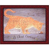 Любознательная кошка (Martin Wiscombe), 20 x 25 см20x25 WI9013-30718Художественная репродукция картины Martin Wiscombe Le Chat Curieux. Размер постера: 20 см x 25 см. Артикул: 20x25 WI9013-30718.