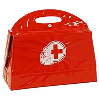 Simba Набор доктора, 12 предметов5545506Докторский чемоданчик включает в себя набор всех необходимых аксессуаров для маленького врача, которые создадут увлекательную атмосферу игры. В комплект входит: - инструмент для осмотра ушей и носа; - шприц; - градусник; - молоточек невропатолога; - прибор для измерения давления с чехольчиком; - пинцет; - бутылочка для таблеток, - коробочка для таблеток; - стетоскоп; - блокнот с листами для рецептов; - табличка для проверки зрения; - табличка учета состояния больного. С этим замечательным набором ребенок сможет почувствовать себя квалифицированным специалистом. Теперь все игрушки будут совершенно здоровы!