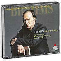 Nikolaus Harnoncourt. Brahms. The Symphonies (3 CD)