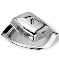 Масленка Vitesse ElitaVS-1218Масленка Elita выполнена из высококачественной нержавеющей стали 18/10 с зеркальной полировкой. Масленка эстетична и функциональна. Благодаря эксклюзивному дизайну масленка легко впишется в интерьер вашей кухни. Масленку можно мыть в посудомоечной машине. Характеристики: Размер масленки: 17 см х 12 см х 5,5 см. Материал: нержавеющая сталь 18/10. Артикул: VS-1218. Кухонная посуда марки Vitesse из нержавеющей стали 18/10 предоставит Вам все необходимое для получения удовольствия от приготовления пищи и принесет радость от его результатов. Посуда Vitesse обладает выдающимися функциональными свойствами. Легкие в уходе кастрюли и сковородки имеют плотно закрывающиеся крышки, которые дают возможность готовить с малым количеством воды и экономией энергии, и идеально подходят для всех видов плит: газовых, электрических, стеклокерамических и индукционных. Конструкция дна посуды гарантирует быстрое поглощение тепла, его равномерное...