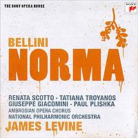 James Levine. Bellini. Norma (2 CD) 2009 2 Audio CD