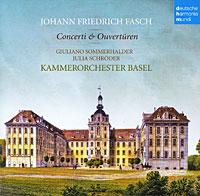Julia Schroder. Fasch. Concerti & Ouvertueren