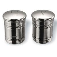 Набор Vitesse Kari: солонка и перечницаVS-1250Набор Kari, состоящий из солонки и перечницы, изготовлен из высококачественной нержавеющей стали 18/10 с зеркальной полировкой. Солонка и перечница легки в использовании: стоит только перевернуть емкости, и Вы с легкостью сможете поперчить или добавить соль по вкусу в любое блюдо. Эксклюзивный дизайн, эстетичность и функциональность набора позволят ему стать достойным дополнением к кухонному инвентарю. Набор пригоден для мытья в посудомоечной машине.