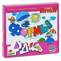 Развивающая игра Формы59Развивающая игра Формы состоит из 10 круглых карточек и 40 карточек, которые прикрепляются к круглым по принципу паззла. В игровой форме малыш познакомится с основными геометрическими формами, и научится находить похожие на них предметы. Начинать лучше с одной круглой карточки. Пусть малыш из 40 карточек подберет к ней 4 подходящих и присоединит так, чтобы они логически дополняли центральную карточку. Количество круглых карточек-заданий следует увеличивать постепенно, воспитывая в ребенке усидчивость и внимательность. Игра предназначена как для занятий с одним малышом, так и с группой от 2 до 10 человек. Для группы малышей игра должна быть соревновательной - кто быстрее справится с заданием. Учись, играя! - зарегистрированный товарный знак, объединяющий более пятидесяти оригинальных игр, призванных расширить представление малышей об окружающем мире и развить их природные способности. Игры серии Учись, играя! охватывают весь материал, необходимый для...