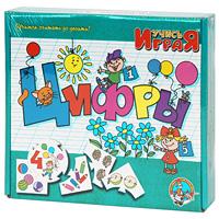 Развивающая игра Цифры62Развивающая игра Цифры состоит из 10 круглых карточек и 40 карточек, которые прикрепляются к круглым по принципу паззла. В игровой форме малыш научится сопоставлять цифру с количеством объектов на картинке. Начинать лучше с одной круглой карточки. Пусть малыш из 40 карточек подберет к ней 4 подходящих и присоединит так, чтобы они логически дополняли центральную карточку. Количество круглых карточек-заданий следует увеличивать постепенно, воспитывая в ребенке усидчивость и внимательность. Игра предназначена как для занятий с одним малышом, так и с группой от 2 до 10 человек. Для группы малышей игра должна быть соревновательной - кто быстрее справится с заданием. Учись, играя! - зарегистрированный товарный знак, объединяющий более пятидесяти оригинальных игр, призванных расширить представление малышей об окружающем мире и развить их природные способности. Игры серии Учись, играя! охватывают весь материал, необходимый для всестороннего гармоничного развития...