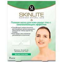 Гелевая маска Skinlite для кожи вокруг глаз, с омолаживающим эффектом, 3 штSL-205Гелевая маска Skinlite с омолаживающим эффектом специально разработана для эффективного и бережного разглаживания морщинок и гусиных лапок вокруг глаз, а также уменьшения отеков и темных кругов, не вызывая раздражения кожи. Маска содержит женьшень, зеленый чай, витамины А и Е, Алоэ. Уникальная формула маски позволяет питательным и увлажняющим ингредиентам глубоко проникать в структуру кожи и оказывать длительное воздействие. Уже после первого применения Вы заметите, что кожа вокруг глаз стала более эластичной, гладкой и упругой, а длительное применение заметно сократит признаки старения кожи. Маска подходит для всех типов кожи. Характеристики: Количество масок: 3. Производитель: Корея. Товар сертифицирован.