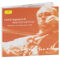 Zakazat.ru Mstislav Rostropovich - Mastercellist. Legendary Recordings 1956-1978 (2 CD)