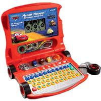 Детский обучающий компьютер Молния Маккуин108945Детский компьютер Молния Маккуин содержит 15 обучающих программ, которые позволят выучить буквы и слова, развить математические навыки и логику, развлечься с помощью игр. Живая анимация, забавные звуковые эффекты, настоящая клавиатура и курсорная мышь в виде колеса - все это привлечет внимание Вашего малыша, а обучающие программы - доказать окружающим и самому себе свою самостоятельность, ответственность и легкость к обучению. Обучающий компьютер способствует развитию речевых навыков, математических навыков, мелкой моторики, самостоятельности в игре. Компьютер оснащен 3D кнопками с героями. Отправляйтесь в Радиатор-Спрингс за новыми приключениями Маккуина и его друзей! Игрушка озвучена профессиональным актером.