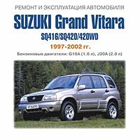 Suzuki Grand Vitara SQ416 / SQ420 / 420WD 1997-2002 гг.