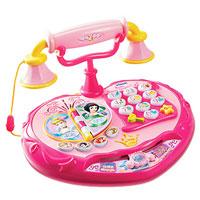 Телефон Маленькой Принцессы. Обучающая игрушка108600Телефон Маленькой Принцессы - это развивающая игрушка, полная волшебства, музыки и веселья, которая поможет Вашему ребенку выучить цифры, развить мелкую моторику, выполнить упражнения для развития логики и памяти. Телефонная книга с перелистываемыми страницами и кнопки с изображением сказочных принцесс, познакомят малыша с их именами и мелодиями из мультфильмов, а забавные кнопки и дизайн настоящего телефона сделают обучение еще увлекательнее! Прилагается подробная инструкция на русском языке.
