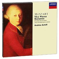 Andras Schiff. Mozart. The Piano Sonatas (5 CD)