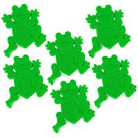 Декоративное украшение для ванной комнаты Jeunesse Frogtime, 6 шт1009695Декоративное украшение для ванной комнаты Jeunesse Frogtime в виде забавных лягушек зеленого цвета изготовлено из полихлорвинила. Украшение крепится с помощью липучки, но прежде чем закрепить его, необходимо очистить поверхность от грязи и жира. Сделайте вашу ванную комнату еще красивее! Характеристики: Материал: полихлорвинил. Размер украшения: 11 см х 9 см х 0,7 см. Размер упаковки: 19 см х 15 см х 4 см. Артикул: 1009695. Изготовитель: Швейцария. Швейцарская компания Spirella - ведущий производитель высококачественных аксессуаров для ванных комнат и душевых кабин, основана в 1912 году. Безусловным достижением компании стало производство водонепроницаемых текстильных штор из хлопка или полиэстера. Компания производит также карнизы самых разных конфигураций, коврики. И, конечно, у Spirella найдется множество симпатичных вещиц, без которых не может обойтись ни одна ванная комната, оборудованная правильно и со вкусом: стаканчики для...