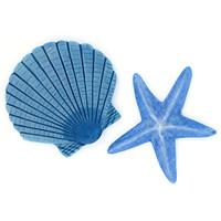Декоративное украшение для ванной комнаты Maritim Blue, 2 шт1042999Декоративное украшение для ванной комнаты Maritim Blue в виде морской звезды и ракушки голубого цвета изготовлено из синтетического материала - полисмолы. Украшение крепится с помощью липучки, но прежде чем закрепить его, необходимо очистить поверхность от грязи и жира. Сделайте вашу ванную комнату еще красивее! Характеристики: Материал: полисмола. Размер звезды: 7,5 см х 7,5 см х 0,7 см. Размер ракушки: 7 см х 7,5 см х 0,7 см. Размер упаковки: 27 см х 9,5 см х 1 см. Артикул: 1042999. Изготовитель: Швейцария. Швейцарская компания Spirella - ведущий производитель высококачественных аксессуаров для ванных комнат и душевых кабин, основана в 1912 году. Безусловным достижением компании стало производство водонепроницаемых текстильных штор из хлопка или полиэстера. Компания производит также карнизы самых разных конфигураций, коврики. И, конечно, у Spirella найдется множество симпатичных вещиц, без которых не может обойтись ни одна...