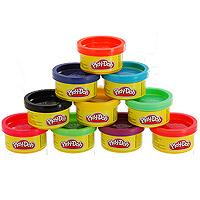 Play-Doh, Пластилин 10 цветов, в тубусе22037477Пластилин Play-Doh, предназначенный для лепки и моделирования, поможет малышу развить творческие способности, воображение и мелкую моторику рук. Пластилин обладает отличными пластичными свойствами, хорошо размягчается и не липнет к рукам. В набор входит пластилин десяти разных цветов. Пластилин каждого цвета хранится в отдельной пластиковой баночке. Лепка из пластилина - необычайно занимательный процесс не только для детей, но и для взрослых.
