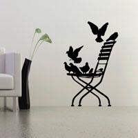 Стикер Paristic Стул в саду, 45 х 70 см44068Добавьте оригинальность вашему интерьеру с помощью необычного стикера Стул в саду. Изображение на стикере выполнено в форме изящного стула, на котором сидят голуби. Необыкновенный всплеск эмоций в дизайнерском решении создаст утонченную и изысканную атмосферу не только спальни, гостиной или детской комнаты, но и даже офиса. Стикер выполнен из матового винила - тонкого эластичного материала, который хорошо прилегает к любым гладким и чистым поверхностям, легко моется и держится до семи лет, не оставляя следов. В комплекте прилагается ракель, с помощью которого вы без труда наклеите стикер на выбранную поверхность. Сегодня виниловые наклейки пользуются большой популярностью среди декораторов по всему миру, а на российском рынке товаров для декорирования интерьеров - являются новинкой. Paristic - это стикеры высокого качества. Художественно выполненные стикеры, создающие эффект обмана зрения, дают необычную возможность использовать в своем...