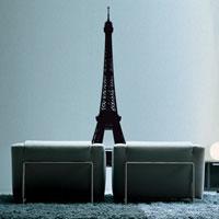 Стикер Paristic Эйфелева башня, 72 х 162 см1042999Добавьте оригинальность вашему интерьеру с помощью необычного стикера Эйфелева башня. Изображение на стикере выполнено в виде Эйфелевой башни. Необыкновенный всплеск эмоций в дизайнерском решении создаст утонченную и изысканную атмосферу не только спальни, гостиной или детской комнаты, но и даже офиса. Стикер выполнен из матового винила - тонкого эластичного материала, который хорошо прилегает к любым гладким и чистым поверхностям, легко моется и держится до семи лет, не оставляя следов. В комплекте прилагается ракель, с помощью которого вы без труда наклеите стикер на выбранную поверхность. Сегодня виниловые наклейки пользуются большой популярностью среди декораторов по всему миру, а на российском рынке товаров для декорирования интерьеров - являются новинкой. Paristic - это стикеры высокого качества. Художественно выполненные стикеры, создающие эффект обмана зрения, дают необычную возможность использовать в своем интерьере элементы городского...