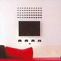 Стикер Paristic Space Invaders, 50 х 56 см1042999Добавьте оригинальность вашему интерьеру с помощью необычного стикера Space Invaders. Изображение на стикере выполнено по мотивам культовой стрелялки для игровых автоматов Space Invaders. Все поклонникам этой игры стикер придется по вкусу. Необыкновенный всплеск эмоций в дизайнерском решении создаст утонченную и изысканную атмосферу не только спальни, гостиной или детской комнаты, но и даже офиса. Стикер выполнен из матового винила - тонкого эластичного материала, который хорошо прилегает к любым гладким и чистым поверхностям, легко моется и держится до семи лет, не оставляя следов. В комплекте прилагается ракель, с помощью которого вы без труда наклеите стикер на выбранную поверхность. Сегодня виниловые наклейки пользуются большой популярностью среди декораторов по всему миру, а на российском рынке товаров для декорирования интерьеров - являются новинкой. Paristic - это стикеры высокого качества. Художественно выполненные стикеры,...